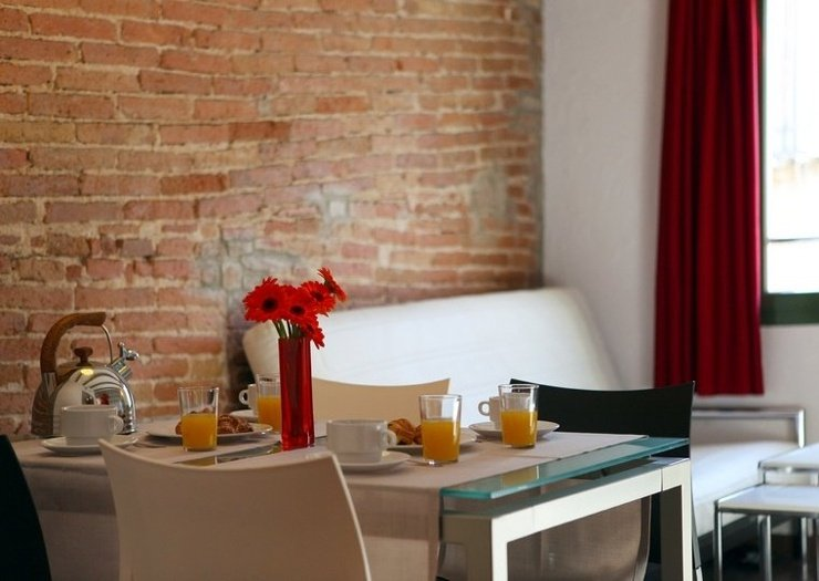 One-bedroom apartment (1-4 persons) ciutat vella apartaments barcelona