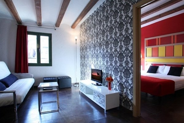 One-bedroom apartment (1-4 persons) Ciutat Vella Apartaments in Barcelona