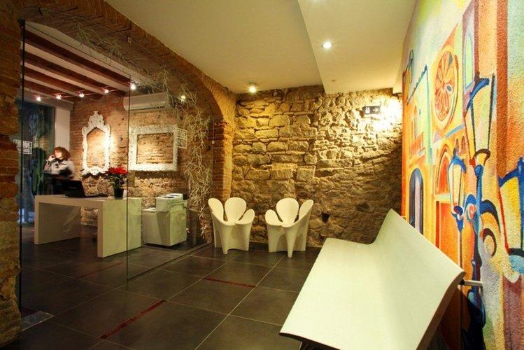 Living room Ciutat Vella Apartaments Barcelona
