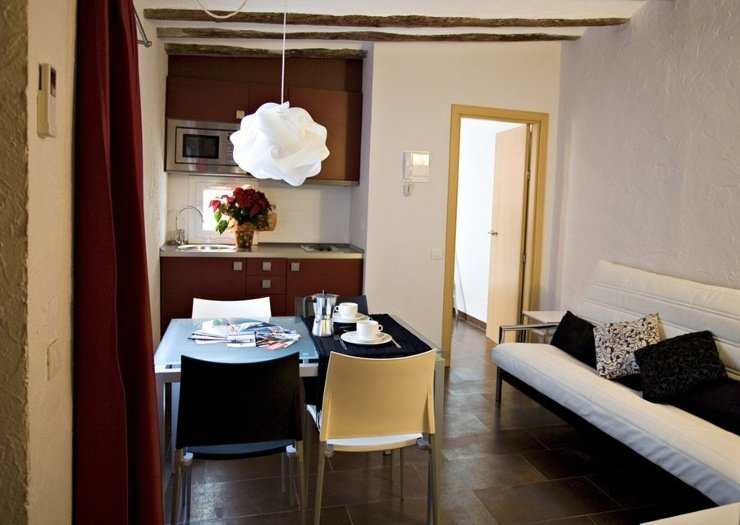 One-bedroom apartment (1-2 persons) ciutat vella apartaments barcelona