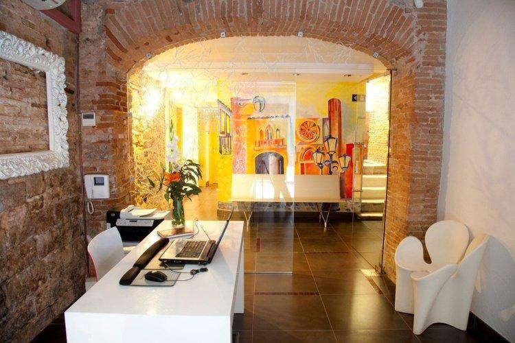 Reception Ciutat Vella Apartaments Barcelona