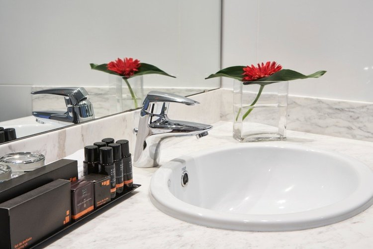 Bathroom Ciutat de Granollers Hotel Granollers