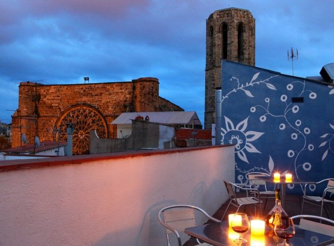 Terrace Ciutat Vella Apartaments Barcelona
